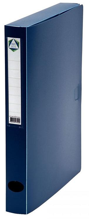 Boite de classement en polypropylène, dos 40 mm, coloris bleu