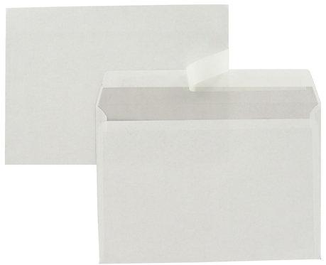 Boîte 500 enveloppes blanches C5 162x229 80g/m² bande de protection