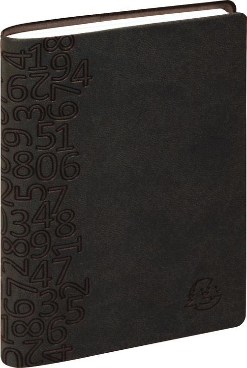 Agenda semainier de poche winner 9 x 13 cm noir