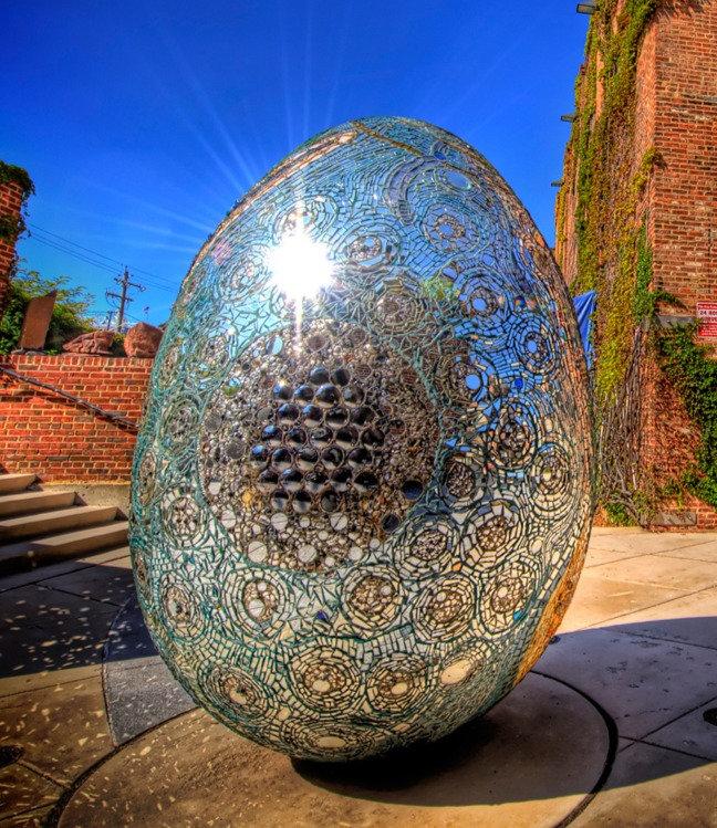 Cosmic Galaxy Egg