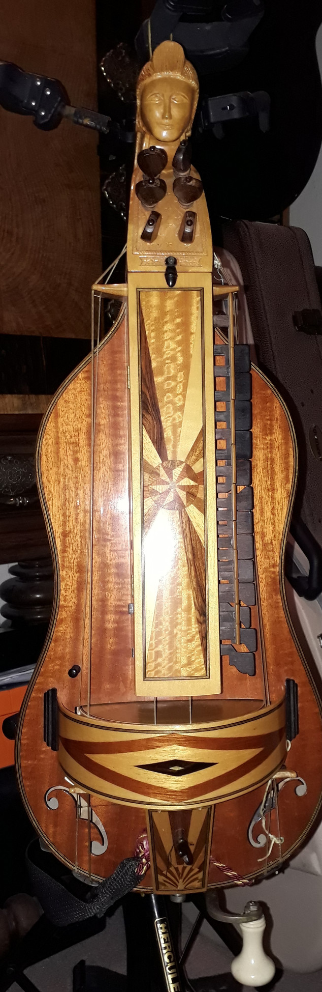 Neil Brook Hurdy-Gurdy