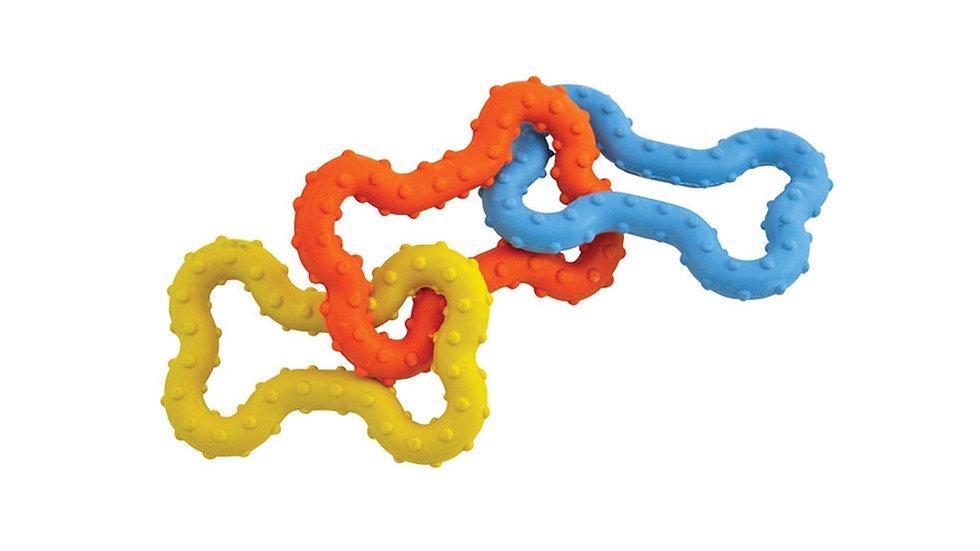 Petstages® ORKA Mini Bone Tug Links Toy