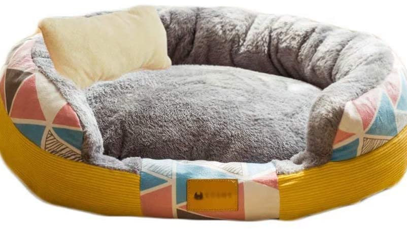 CLL Deluxe PET and PET Dog - Plush, Soft Washable, Soothing, Dog Bed