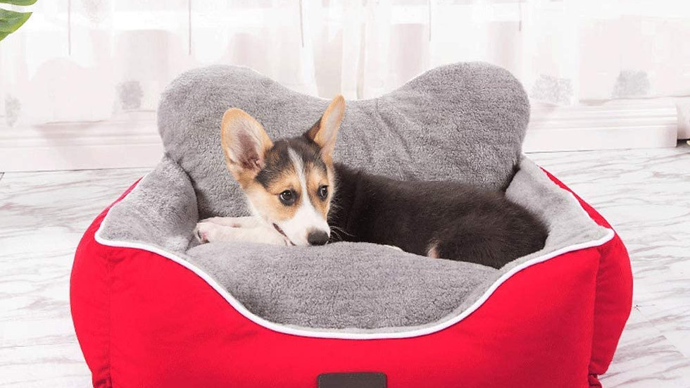CLL PECUTE Dog Bed - Washable, Hygienic and Non-Slip, Warm Dog Bed