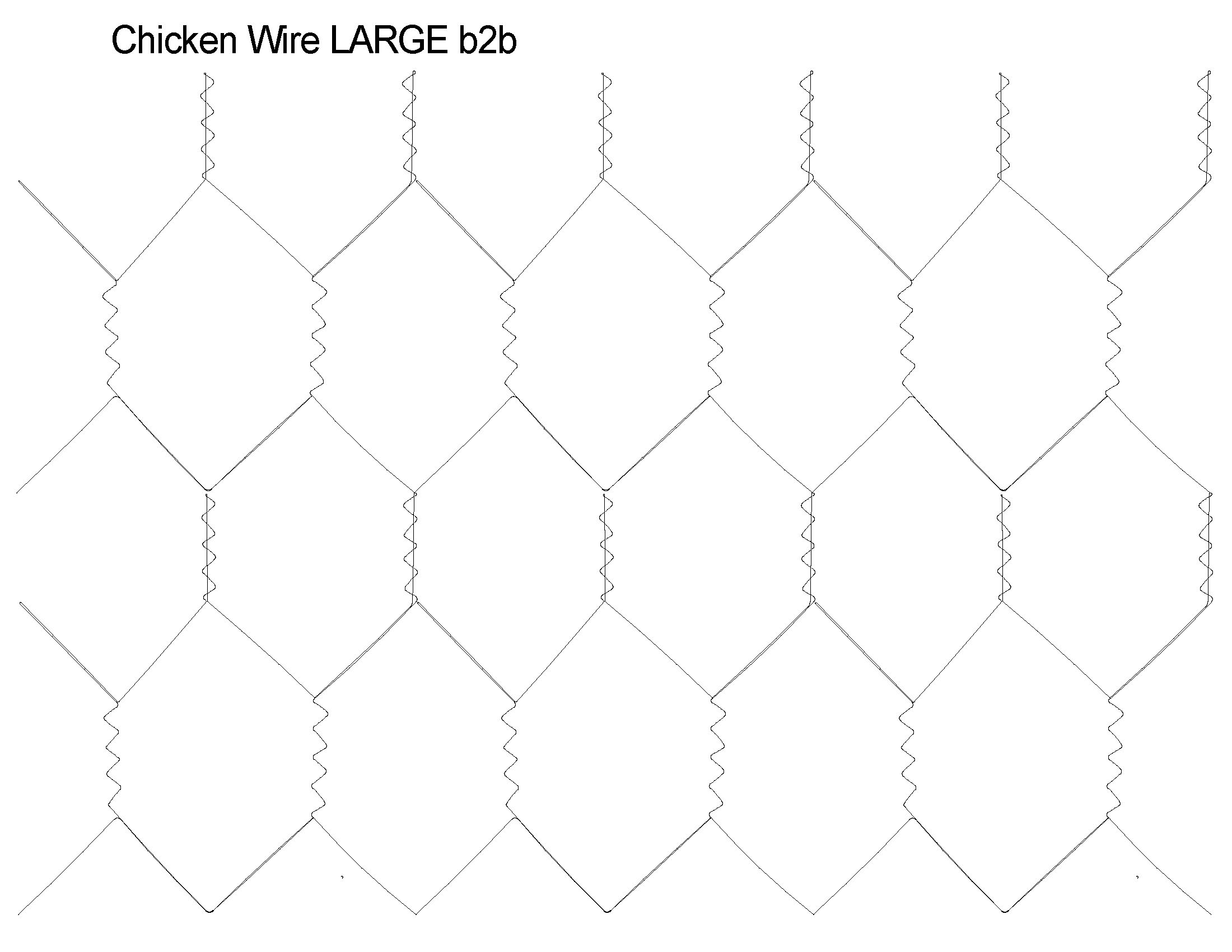Chicken Wire Large b2b