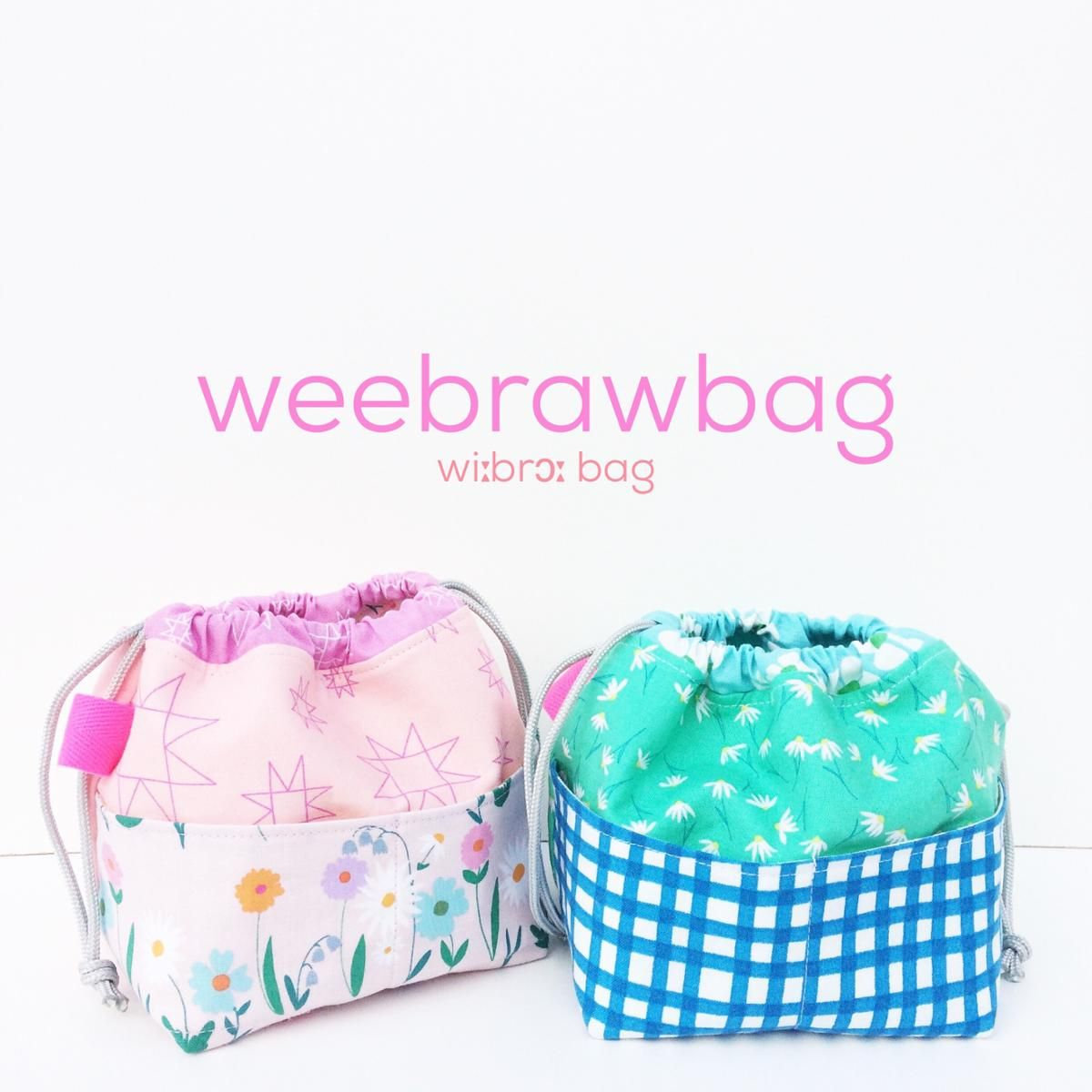 Weebrawbag- Pattern is E-mailed to You