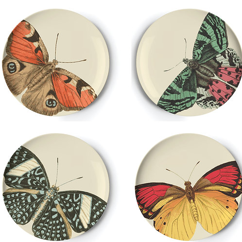 "Metamorphosis  9"" Plates - Set of 4"