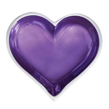 Amethyst Heart With Heart Spoon