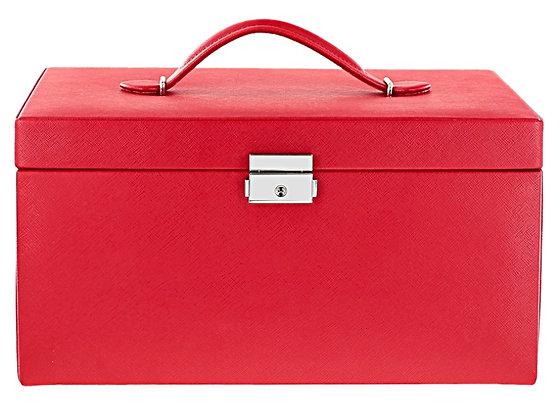 WOLF XL JEWELRY BOX RED