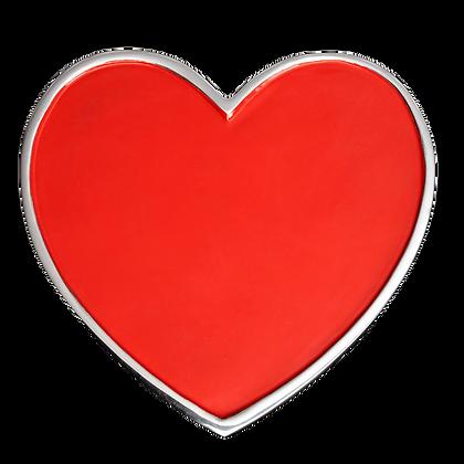 Hot Heart Trivet