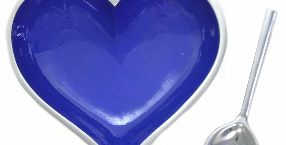 Purple Heart with Heart Spoon