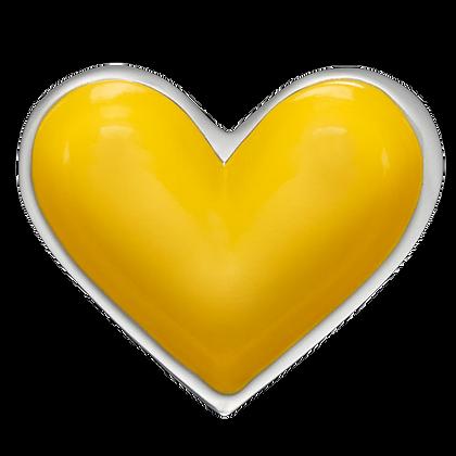 Tiny Heart - Yellow