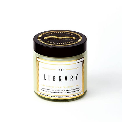 The Library Luxury Travel Candle