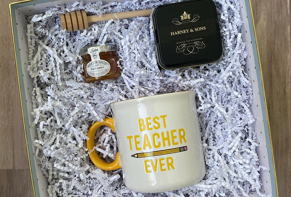 Best Teacher Ever Tea Set