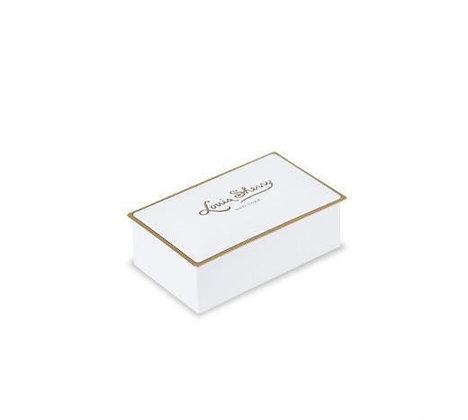 White - Louis Sherry 2 Piece Chocolate Tin
