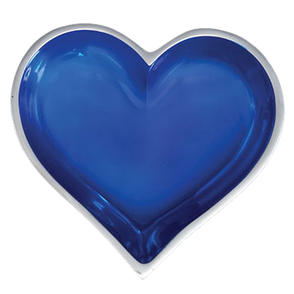 Sapphire Heart with Heart Spoon