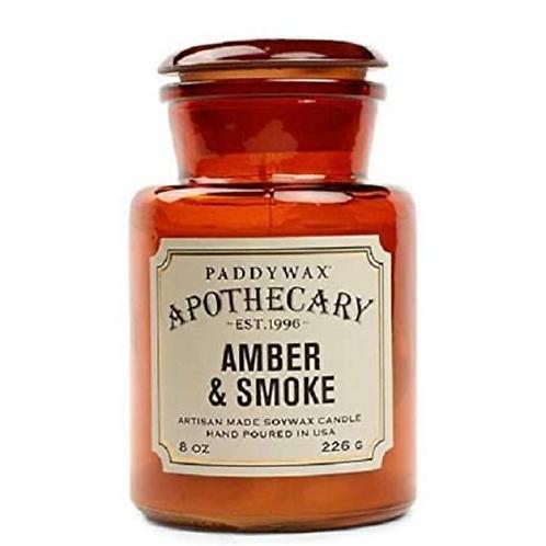 Paddywax Apothecary - Amber & Smoke - 8 OZ