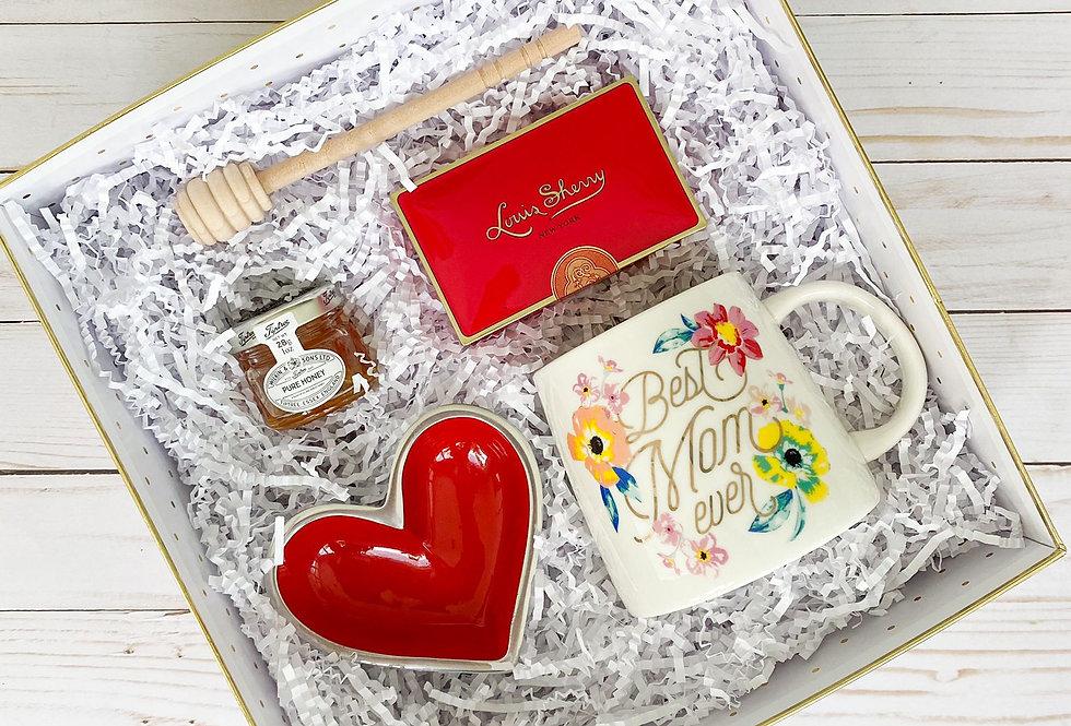 BEST MOM HEART GIFT BOX