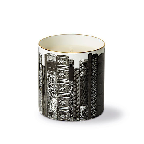 The Library Ceramic Luxury Scented Candle