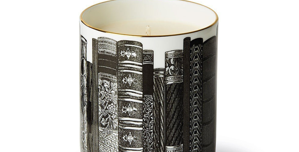 The Library Ceramic Luxury Scented Candle  - Chase & Wonder