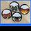 """Thumbnail: Metamorphosis  11""""Plates - Set of 4"""