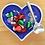 Thumbnail: Purple Heart with Heart Spoon