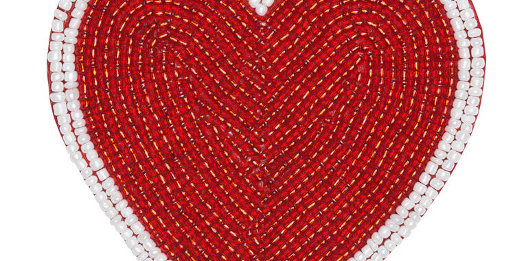 Heart Coaster - Set of 4