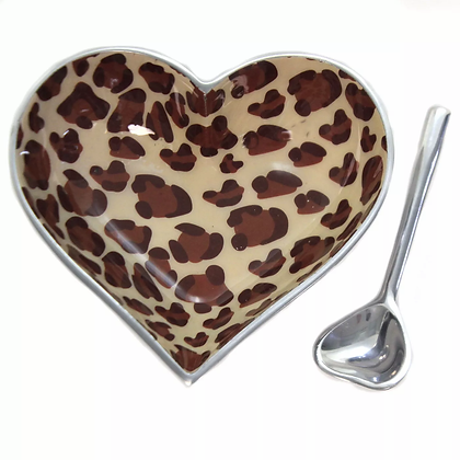 Giraffe Heart with Heart Spoon