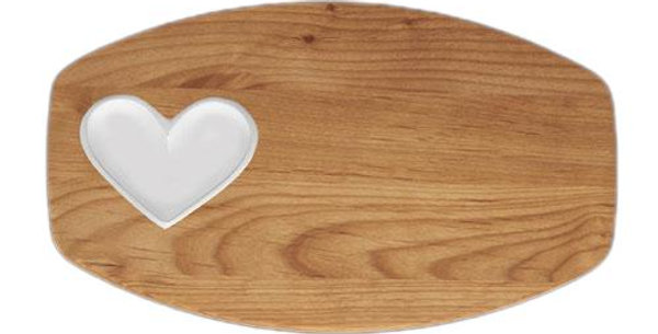 Personalized love on board small tray