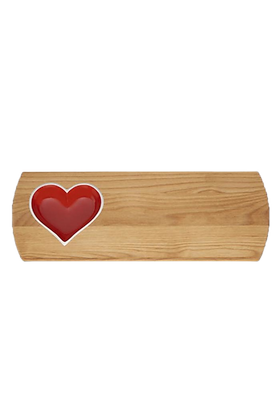 Personalized love on board large tray