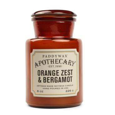 Apothecary - Orange Zest & Bergamot 8 OZ