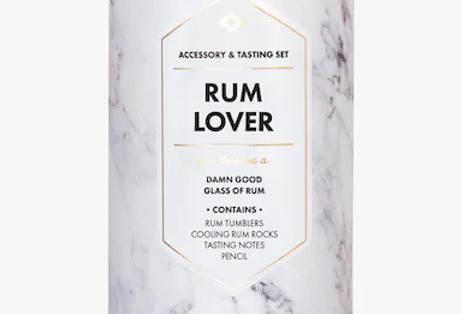 RUM LOVER'S – ACCESSORY & TASTING KIT