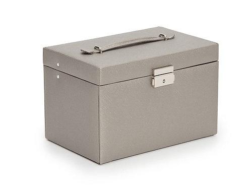 WOLF LARGE JEWELRY BOX GRAY