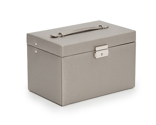 WOLF LARGE JEWELRY BOX GRAY