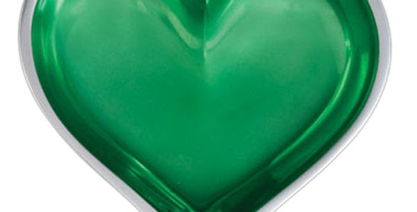 Emerald Heart with Heart Spoon