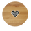 Thumbnail: Personalized Lazy Susan with Heart and Spoon - Inspired Generations