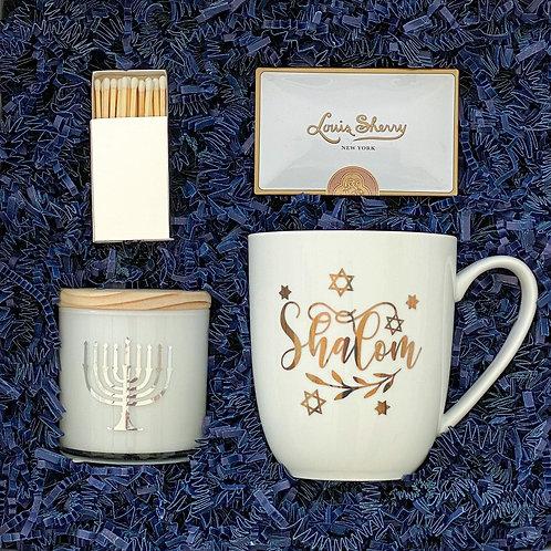 Shalom - Personalized Candle