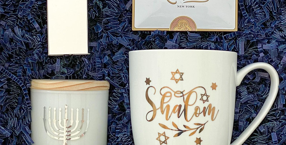Shalom - Personalized Candle