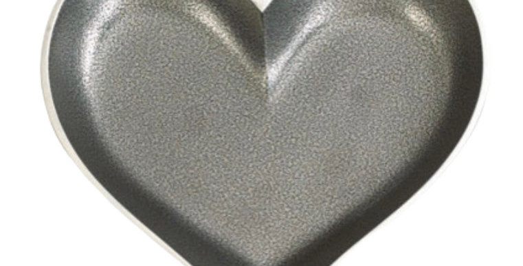 Silver Heart with Heart Spoon