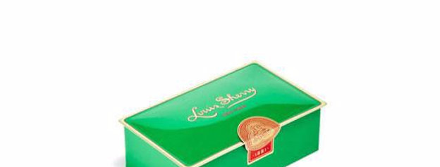 Green - Louis Sherry 2 Piece Chocolate Tin
