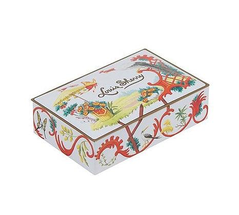 Louis Sherry 2 Piece Chocolate Tin -Jardin Chinois