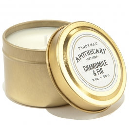 PADDYWAX APOTHECARY - CHAMOMILE & FIG TRAVEL TIN CANDLE