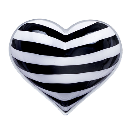 Checkerboard  Heart with Heart Spoon