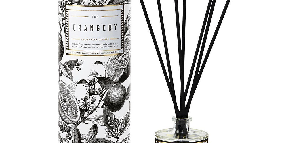 The Orangery Luxury Reed Diffuser - Chase & Wonder