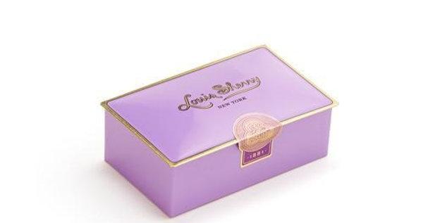 Purple - Louis Sherry 2 Piece Chocolate Tin -