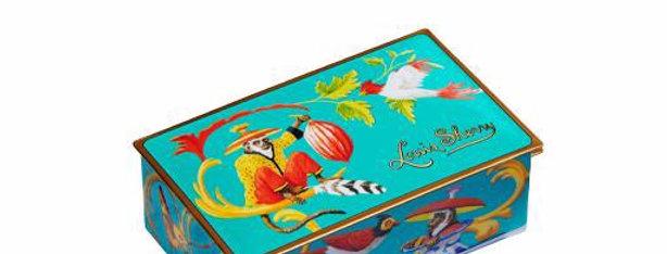 Singerie Tail - Louis Sherry 2 Piece Chocolate Tin
