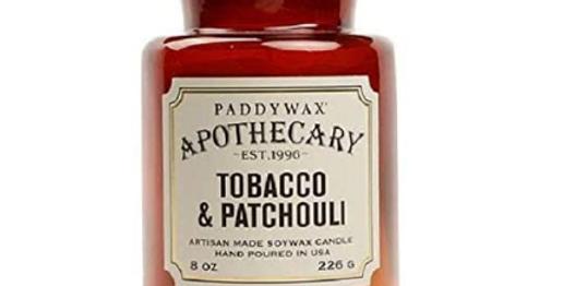 Paddywax Apothecary - Tobacco & Patchouli 8 OZ