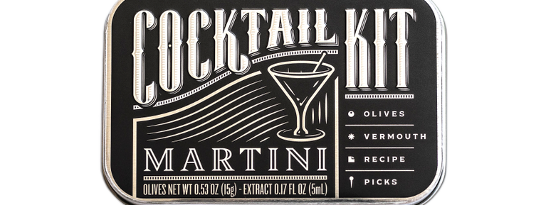 DIRTY MARTINI COCKTAIL KIT
