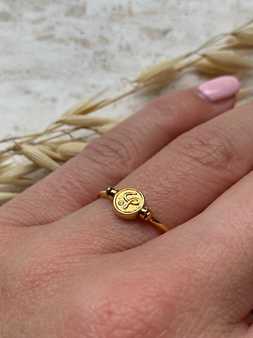 CLASSIC COLLECTION - TWO SIDED RING - ONE SIZE 17/18