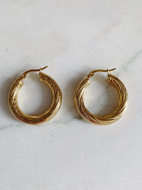 ROBE HOOPS - GOLD